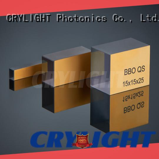 Crylight SHG crystal factory for oscillators