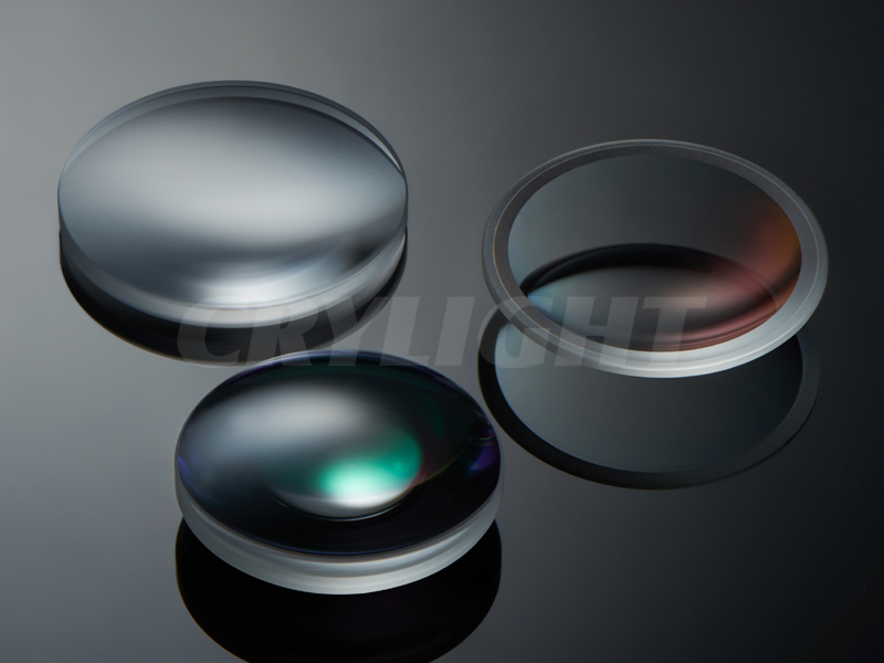 Crylight double convex lens from China for beam expanders-1