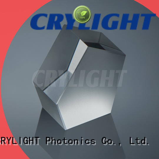 Crylight wedge fused silica wedge personalized for dispersing