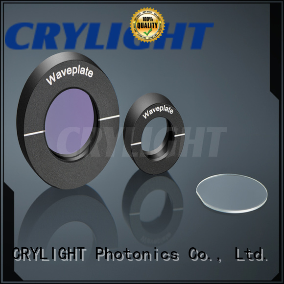 Crylight air spaced half waveplate supplier for polarization