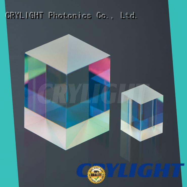 Crylight micro high power polarization beamsplitter cube factory price for sale