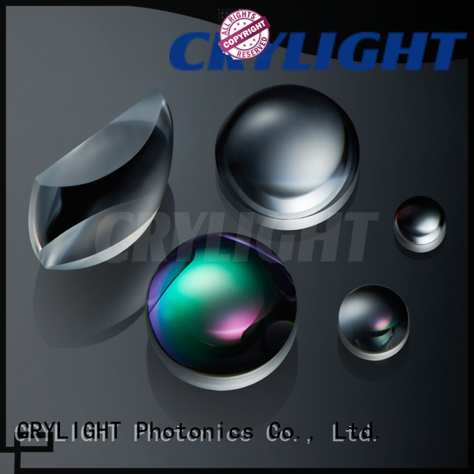 Crylight axicon plano convex lens from China for testing