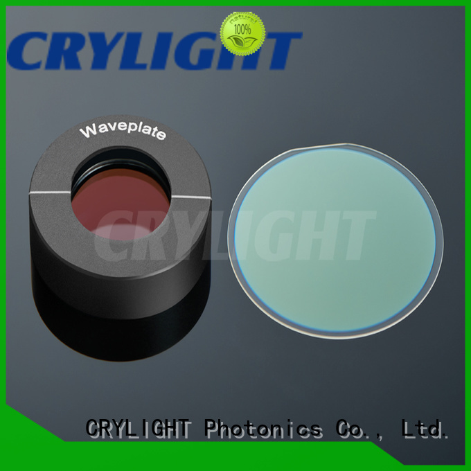 Crylight contacted dual wavelength waveplate factory price for rotate