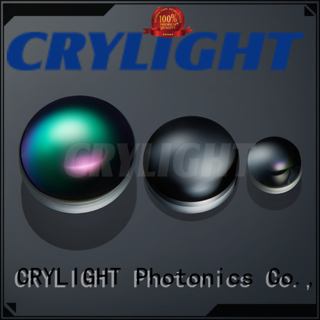 Crylight achromatic bi-convex lens from China for sale