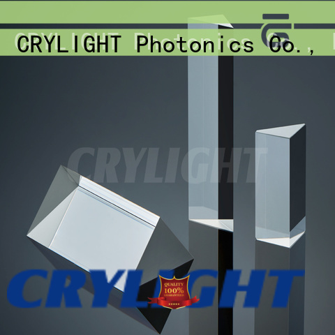 Crylight fused silica prism personalized for dispersing