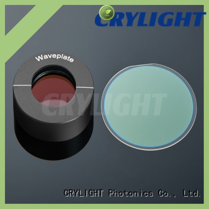 Crylight contacted zero order waveplate supplier for rotate