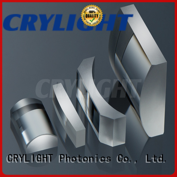 Crylight plano double convex cylindrical lens personalized for optical metrology