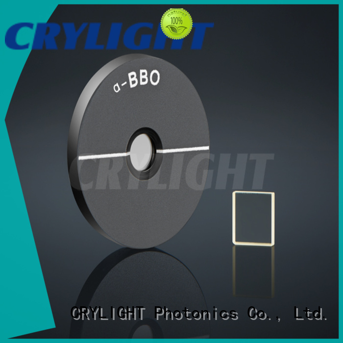 Crylight NLO crystal design for electro-optical