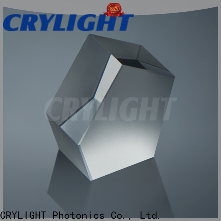 Crylight fused corner cube retroreflector supplier for right angle
