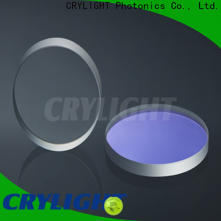 Crylight mgf2 window wholesale for industrial