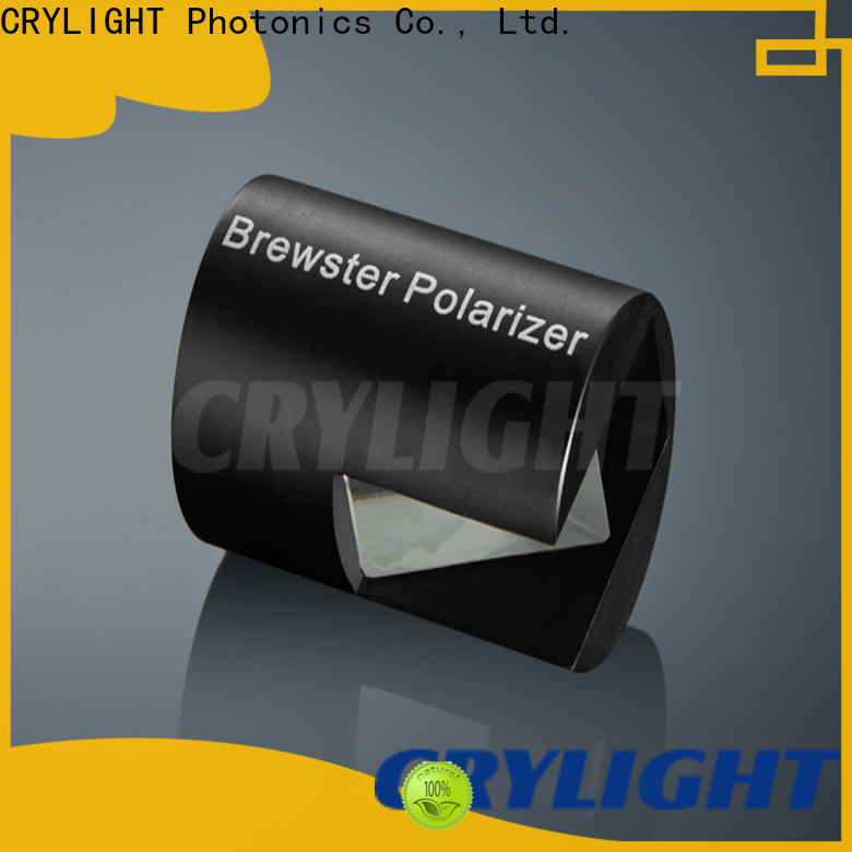 Crylight glan laser polarizer personalized for optical instrument