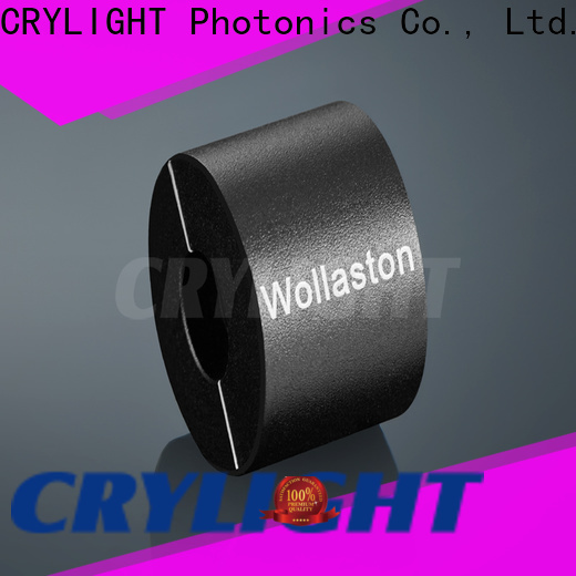 Crylight wollaston calcite polarizer factory price for industrial