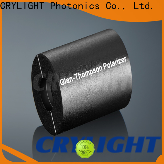 Crylight polarizer glan thompson polarizer factory price for optical instrument