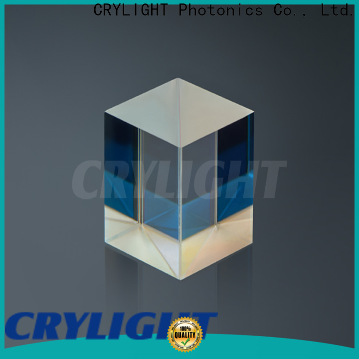 Crylight polarizing beam splitter personalized for industrial