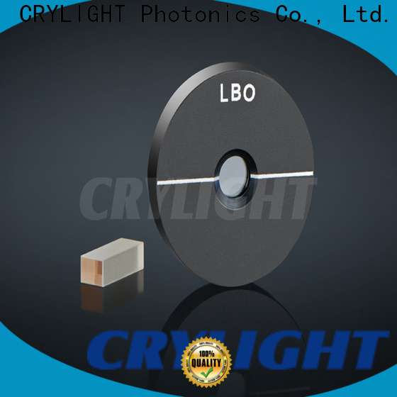 Crylight felinbo3 NLO Crystal customized for doubling diode