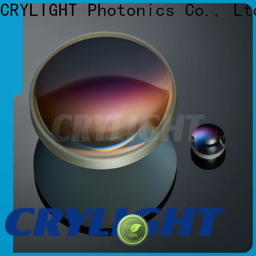 Crylight simple optics lens customized for beam expanders