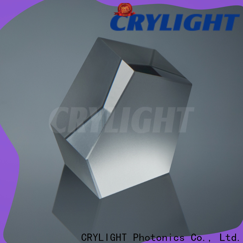 Crylight fused silica wedge supplier for beamsplitter penta