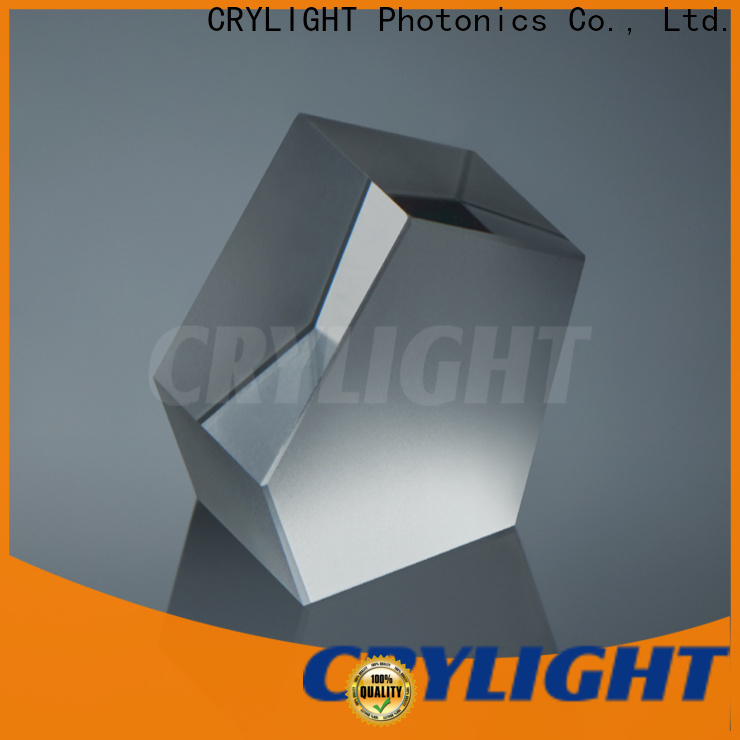 Crylight silica prism personalized for beamsplitter penta