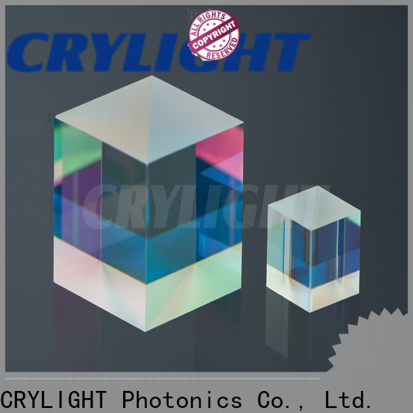 Crylight micro optical prism supplier for components