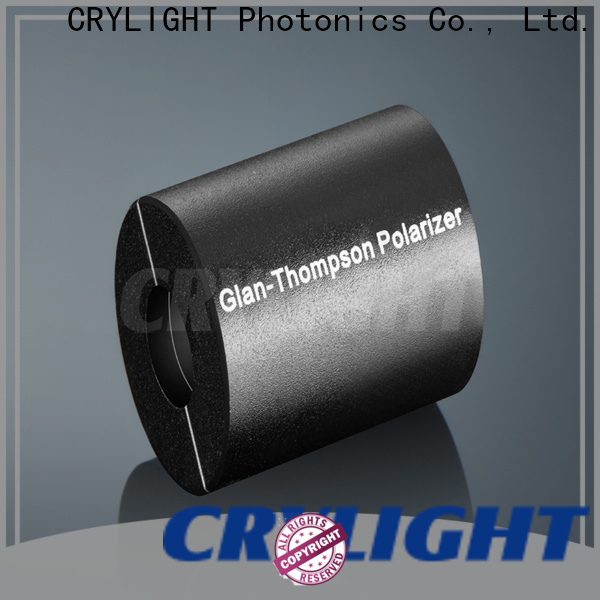 glan polarizer personalized for optical techniques