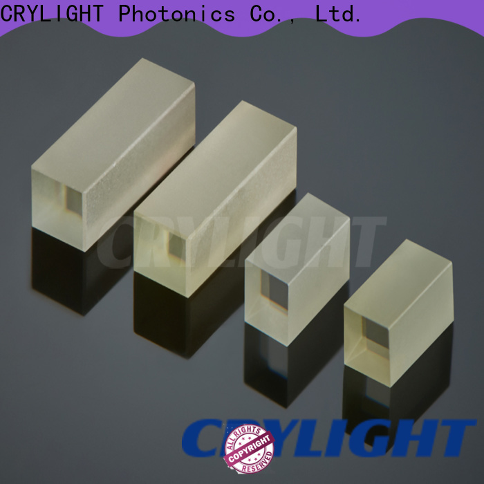 Crylight birefringent crystal directly sale for commercial