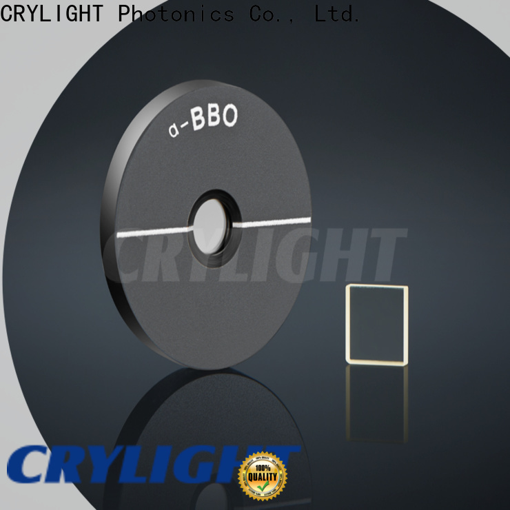 Crylight SHG crystal at discount for electro-optical