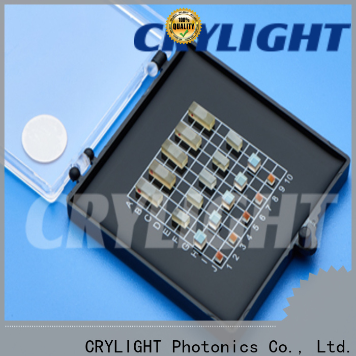 Crylight birefringent crystals factory for isolators