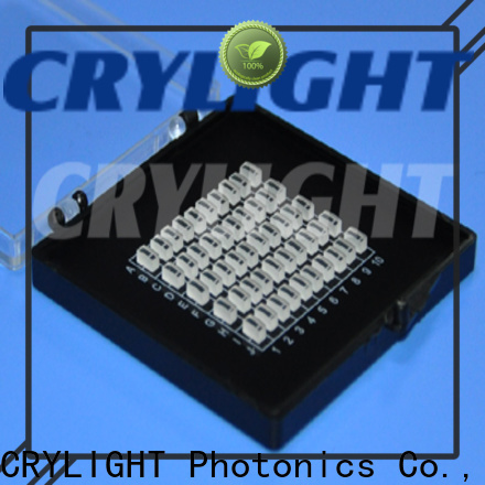 Crylight top quality micro lens customized for laser diode
