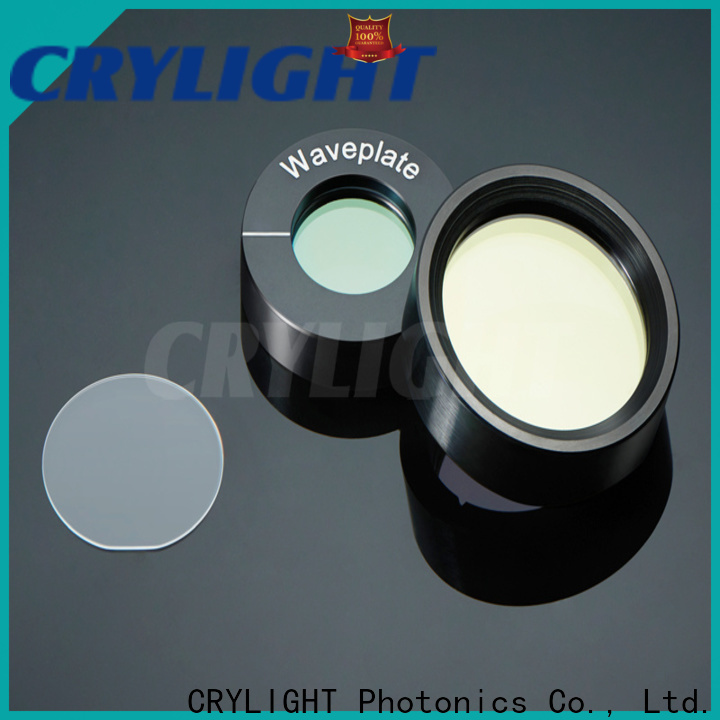 Crylight quarter waveplate factory price for rotate