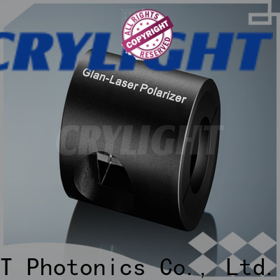 Crylight polarizer alpha-bbo polarizer personalized for optical techniques
