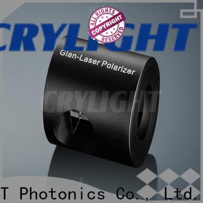 Crylight polarizer alpha-bbo polarizer personalized for optical techniques