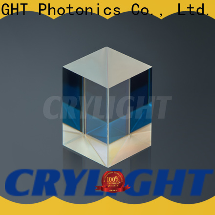 Crylight polarising beam splitter cube for commercial