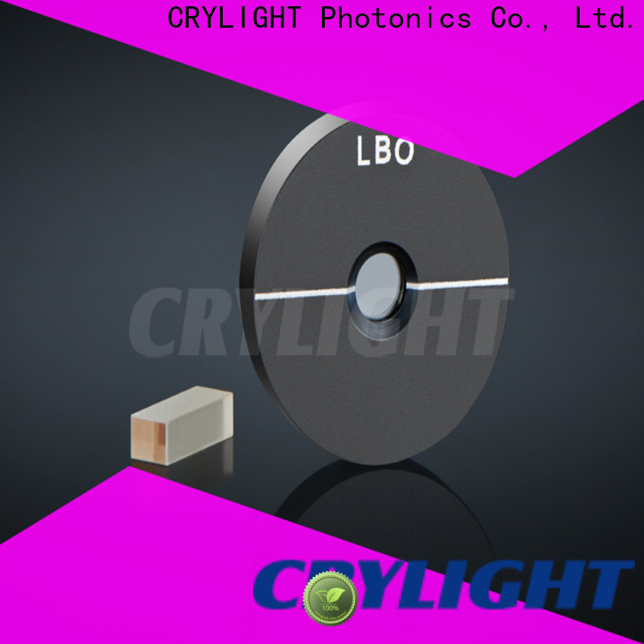 Crylight NLO Crystal series for commercial