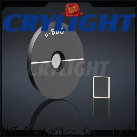 Crylight SHG crystal design for electro-optical