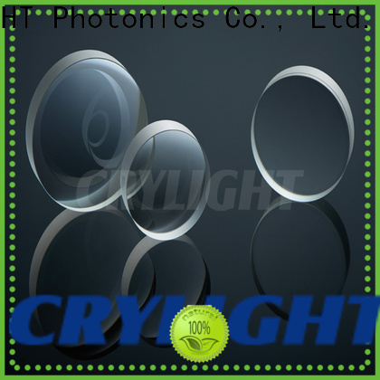 Crylight positive doublet lenses from China for testing