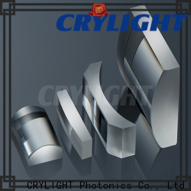 Crylight convex round cylindrical lens factory price for laser scanning