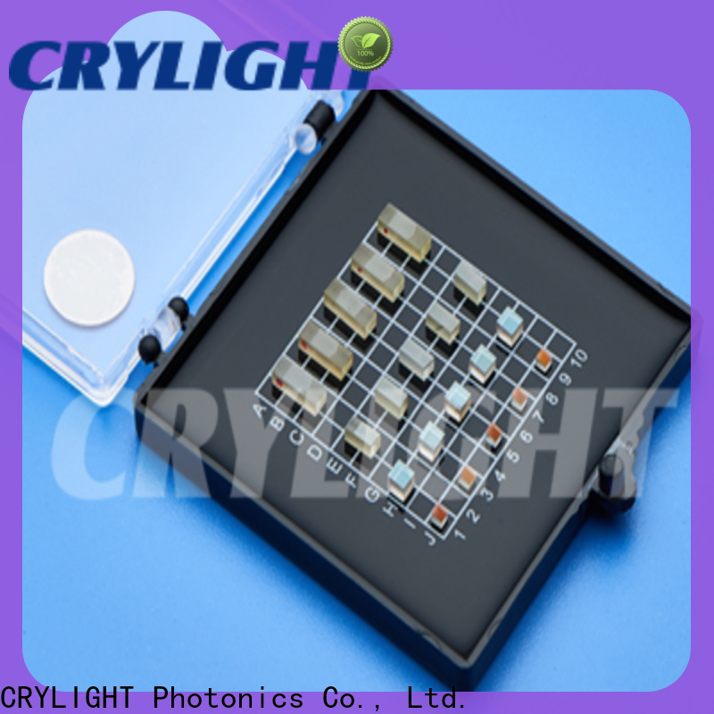 Crylight birefringent crystals at discount for interleaves