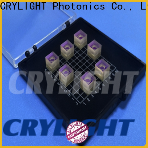 Crylight micro prism factory price for passive optical