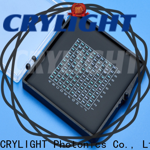 Crylight micro waveplate design for commercial