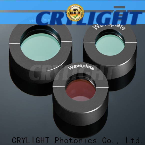 Crylight wedges personalized for right angle