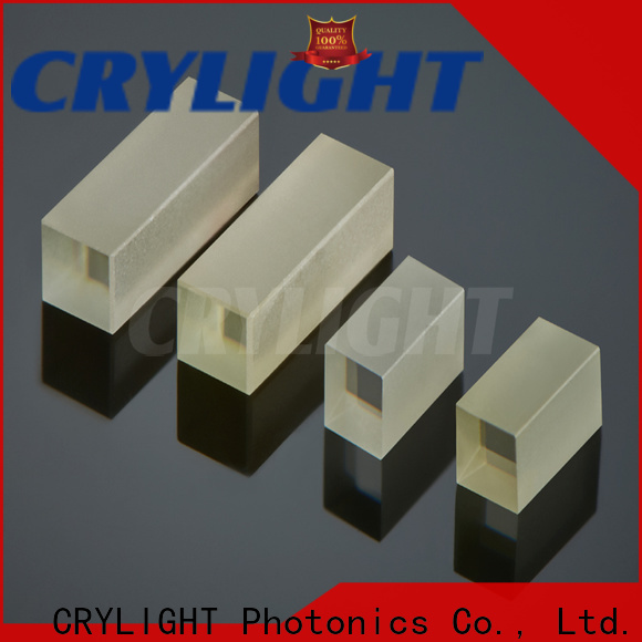 Crylight reliable birefringent crystal customized for commercial