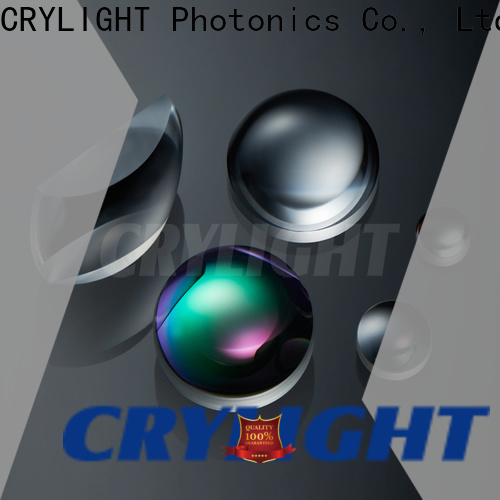 Crylight axicon plano convex lens customized for beam expanders
