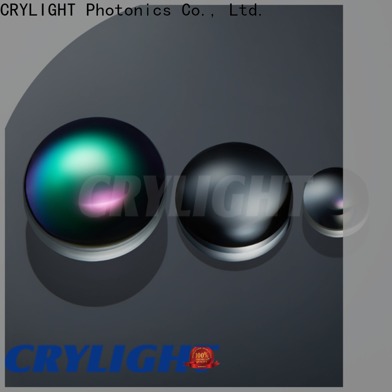 Crylight possive glass lens customized for testing