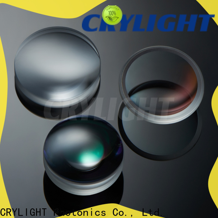 Crylight spherical bi-convex lens customized for beam expanders