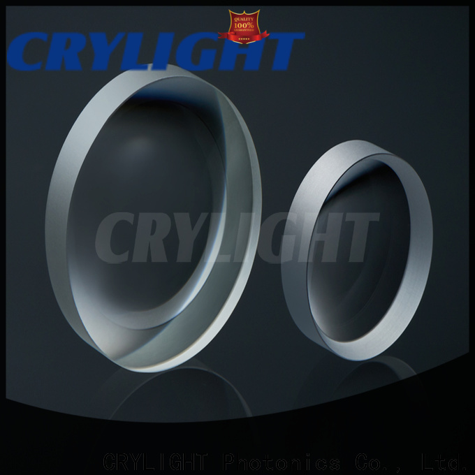 Crylight concave glass lens customized for sale