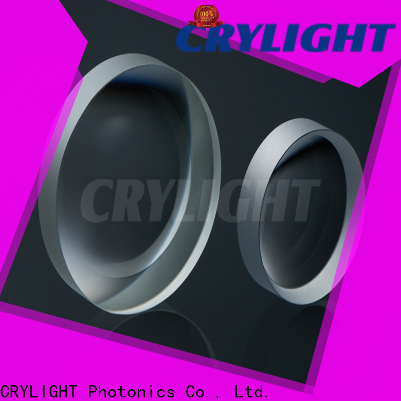 Crylight spherical double convex lens manufacturer for sale