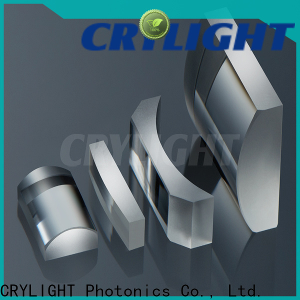 Crylight concave round cylindrical lens factory price for laser scanning
