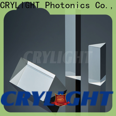 Crylight prisms personalized for right angle