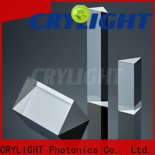 Crylight rhomb right angle prism factory price for right angle