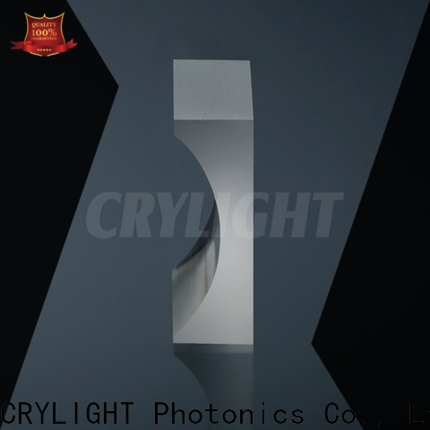 Crylight double convex cylindrical lens supplier for laser scanning